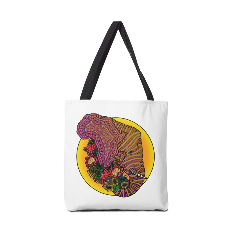 Loxodonta Africana Accessories Bag by Haciendo Designs's Artist Shop