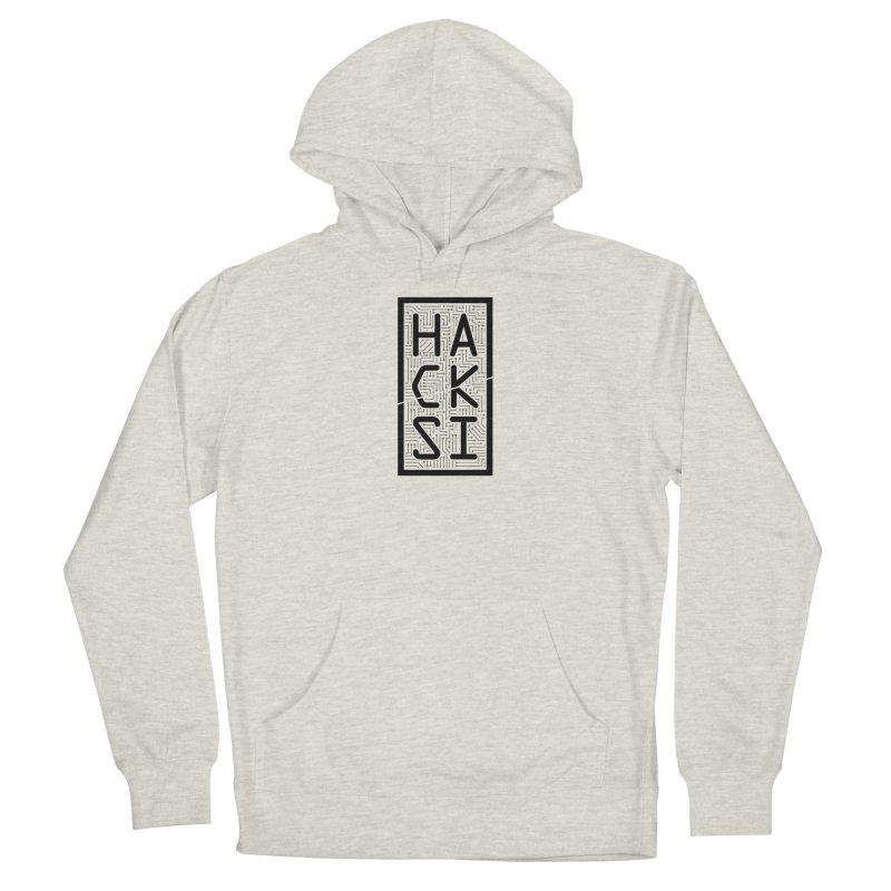 Black HackSI Logo Women's Pullover Hoody by The HackSI Shop
