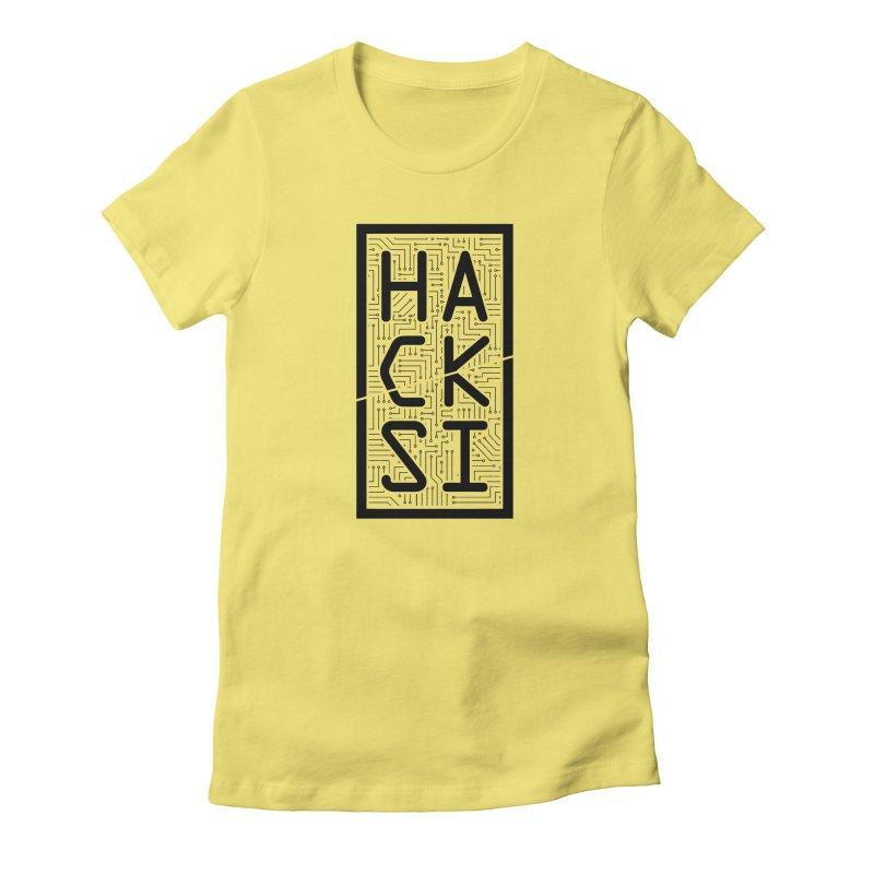 Black HackSI Logo Women's T-Shirt by The HackSI Shop