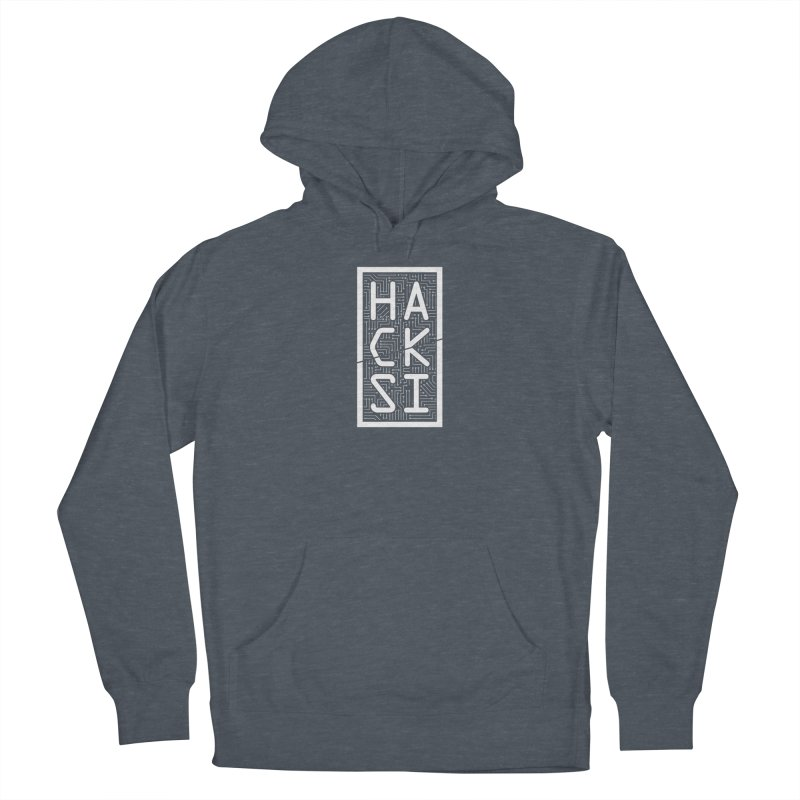 White HackSI Logo Women's Pullover Hoody by The HackSI Shop