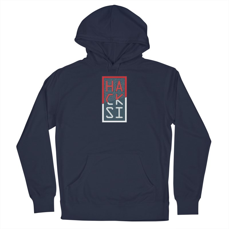Color HackSI Logo Men's Pullover Hoody by The HackSI Shop