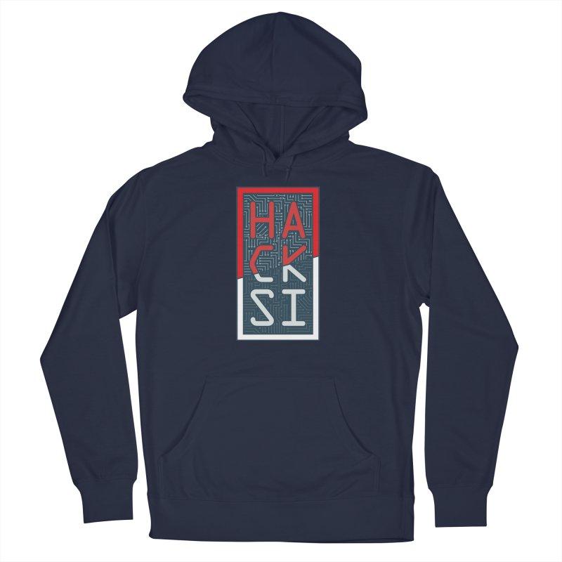 Color HackSI Logo Men's Pullover Hoody by The HackSI Shop