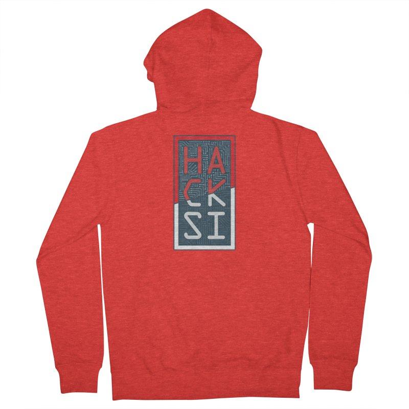 Color HackSI Logo Women's Zip-Up Hoody by The HackSI Shop