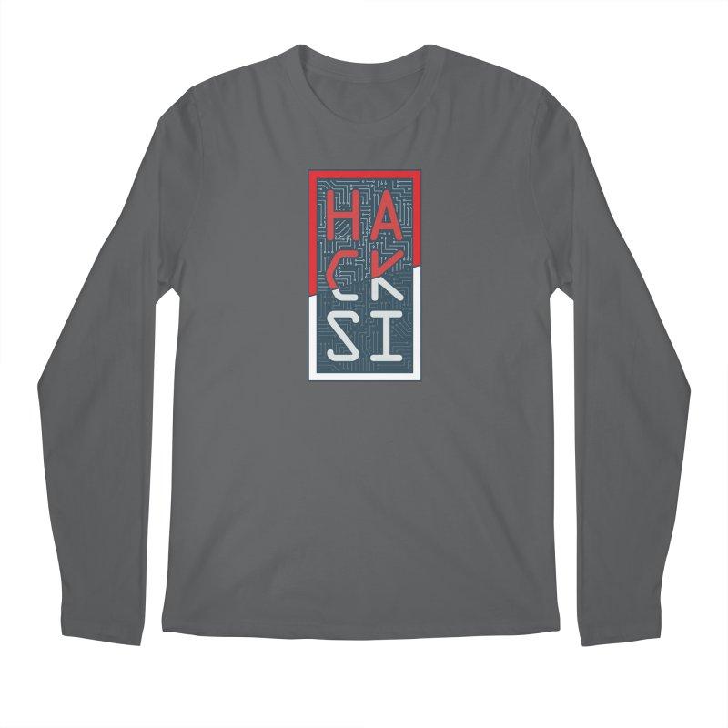 Color HackSI Logo Men's Longsleeve T-Shirt by The HackSI Shop