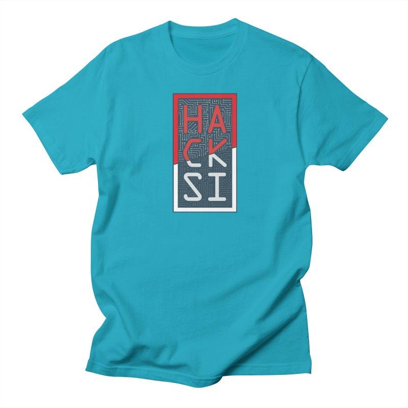 Color HackSI Logo Men's Regular T-Shirt by The HackSI Shop