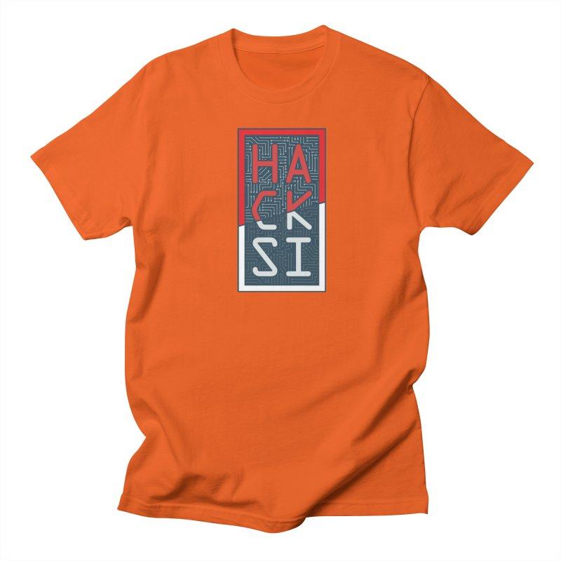 Color HackSI Logo Men's T-Shirt by The HackSI Shop