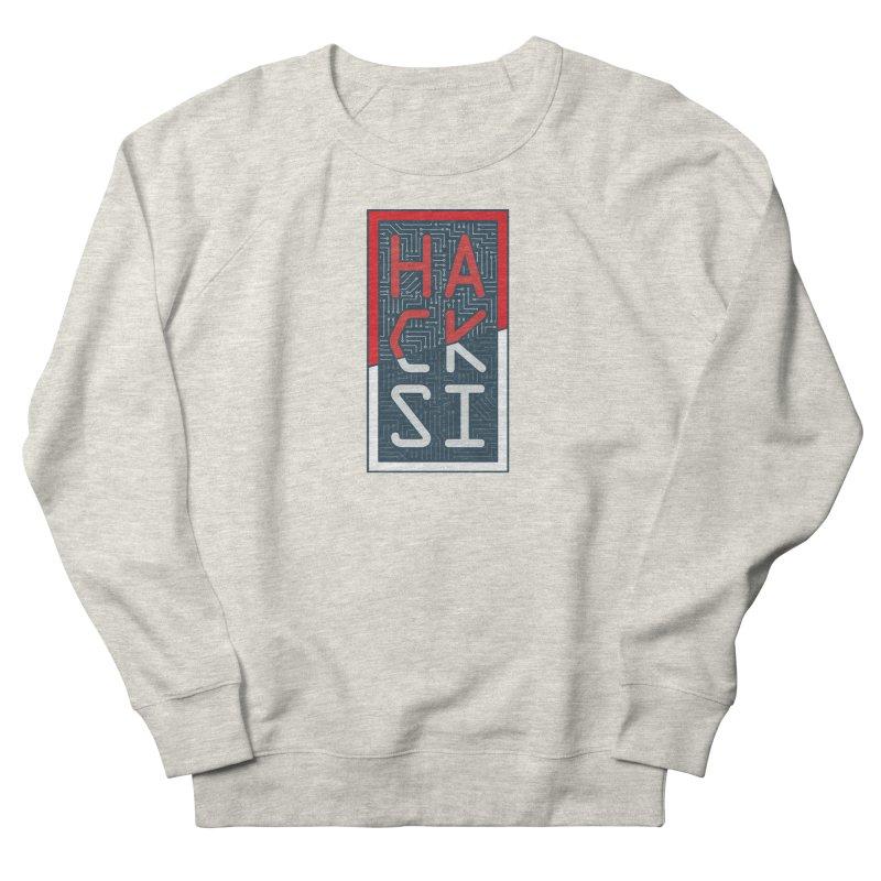 Color HackSI Logo Men's Sweatshirt by The HackSI Shop