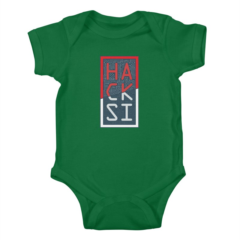 Color HackSI Logo Kids Baby Bodysuit by The HackSI Shop