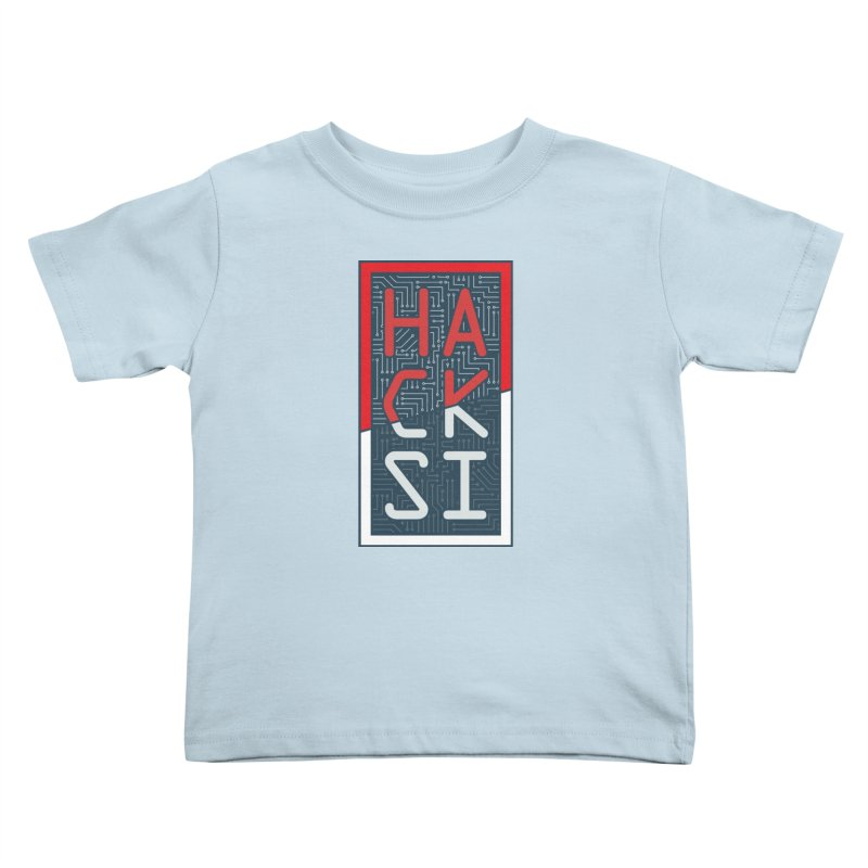 Color HackSI Logo Kids Toddler T-Shirt by The HackSI Shop