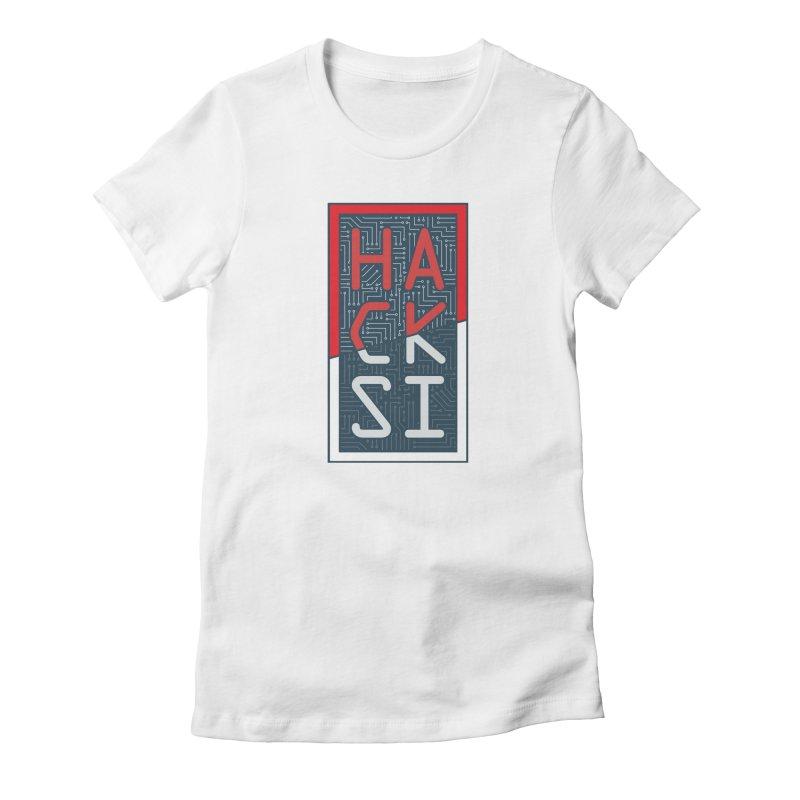 Color HackSI Logo Women's T-Shirt by The HackSI Shop