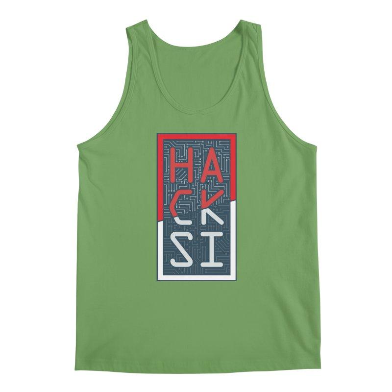 Color HackSI Logo Men's Tank by The HackSI Shop
