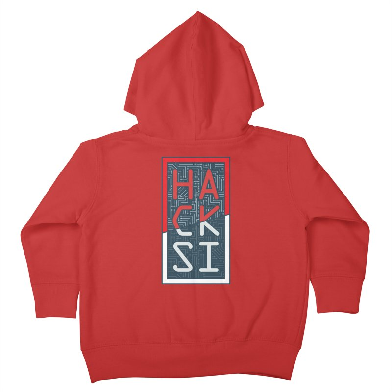Color HackSI Logo Kids Toddler Zip-Up Hoody by The HackSI Shop