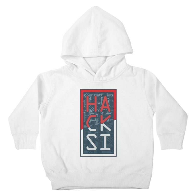 Color HackSI Logo Kids Toddler Pullover Hoody by The HackSI Shop