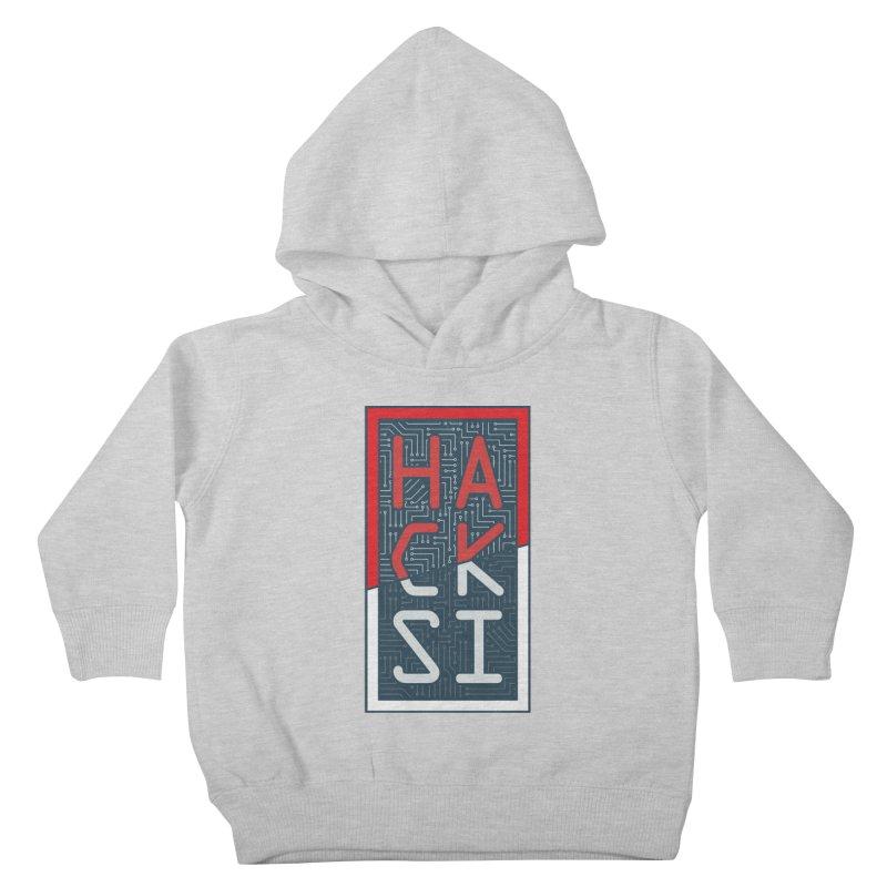 Color HackSI Logo Kids Toddler Pullover Hoody by The HackSI Shop