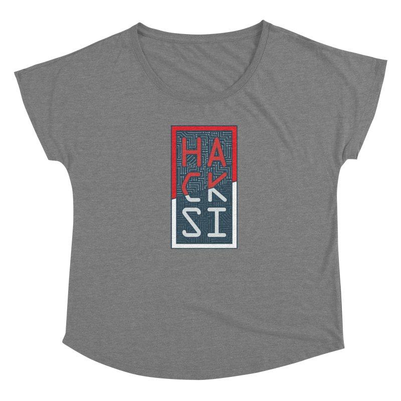 Color HackSI Logo Women's Scoop Neck by The HackSI Shop