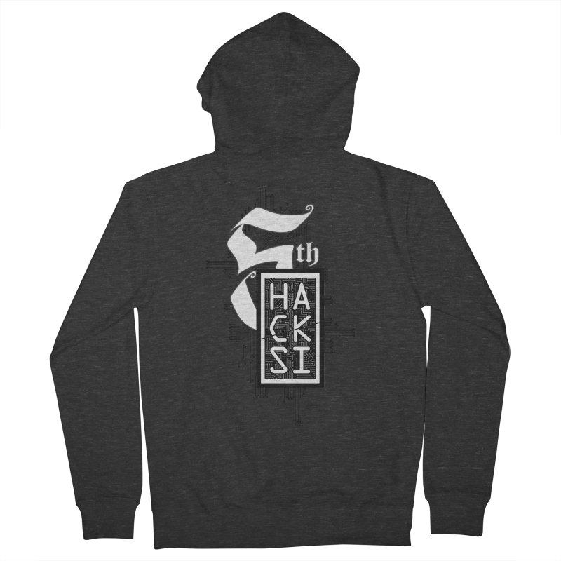 Dark 2017 logo Women's Zip-Up Hoody by The HackSI Shop