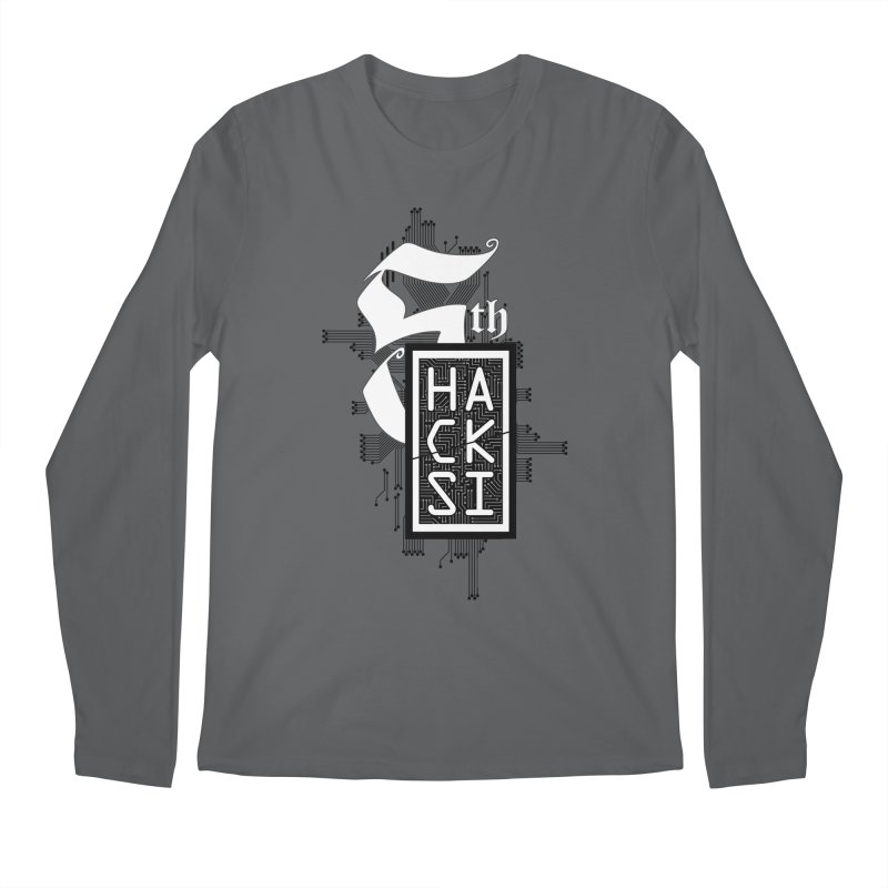 Dark 2017 logo Men's Longsleeve T-Shirt by The HackSI Shop