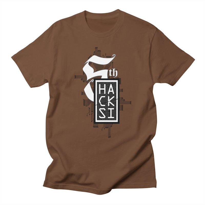 Dark 2017 logo Men's Regular T-Shirt by The HackSI Shop