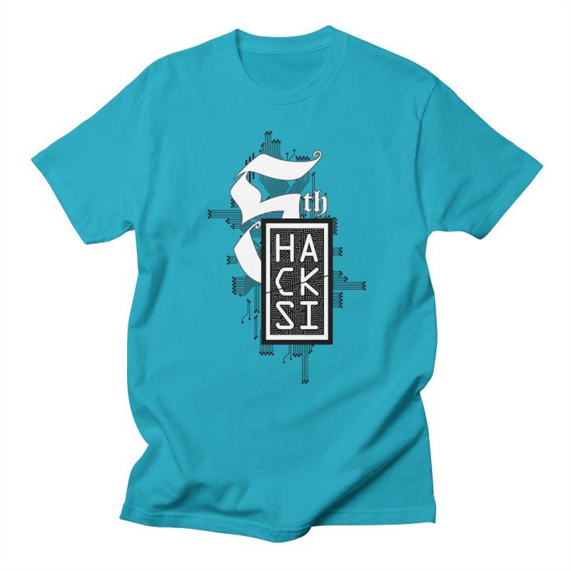 Dark 2017 logo Men's T-Shirt by The HackSI Shop