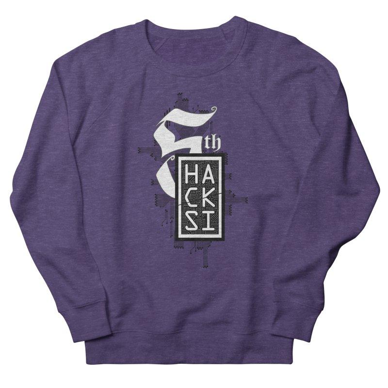 Dark 2017 logo Women's French Terry Sweatshirt by The HackSI Shop