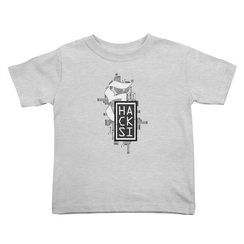 Dark 2017 logo Kids Toddler T-Shirt by The HackSI Shop