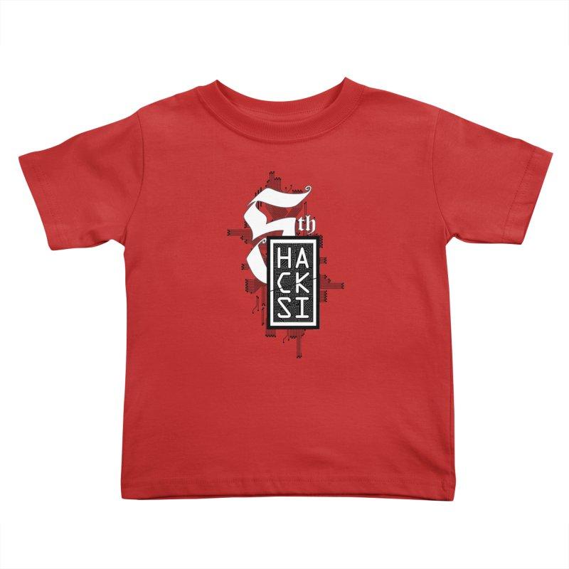 Dark 2017 logo Kids Toddler T-Shirt by The HackSI Shop