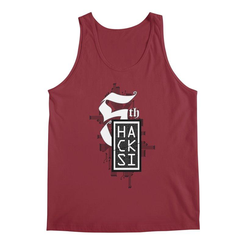 Dark 2017 logo Men's Regular Tank by The HackSI Shop