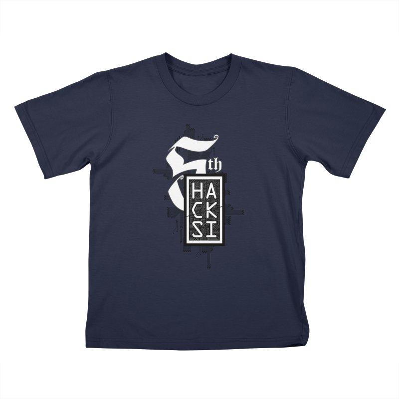 Dark 2017 logo Kids T-Shirt by The HackSI Shop