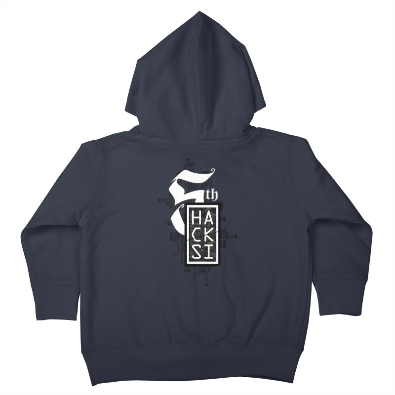 Dark 2017 logo Kids Toddler Zip-Up Hoody by The HackSI Shop