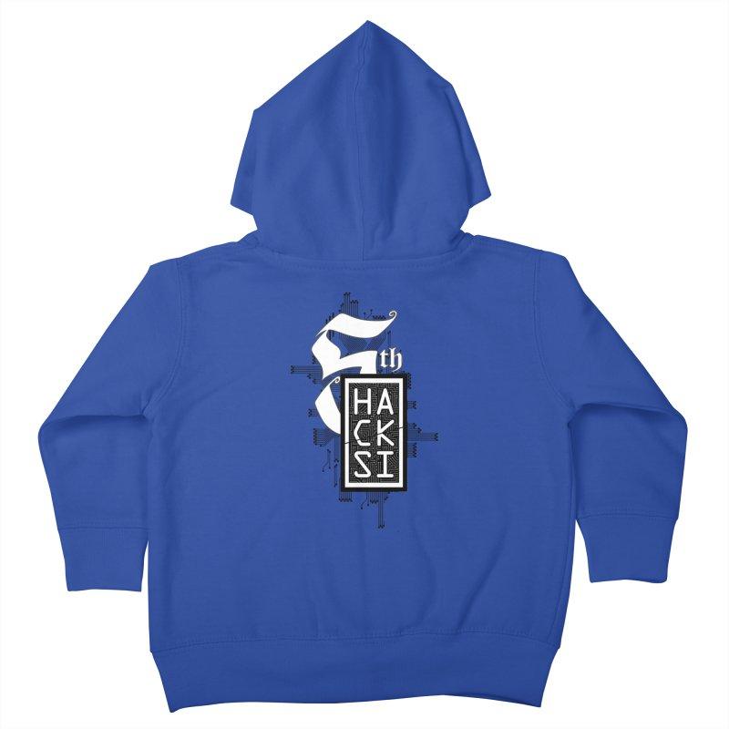 Dark 2017 logo Kids Toddler Zip-Up Hoody by The HackSI Shop