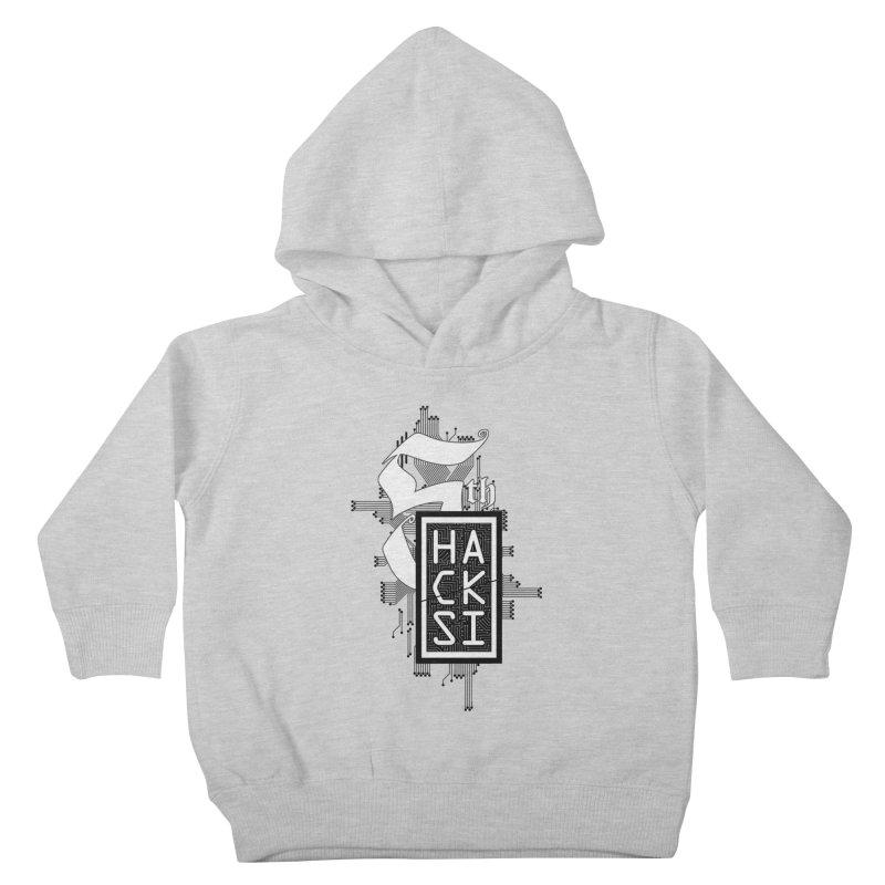 Dark 2017 logo Kids Toddler Pullover Hoody by The HackSI Shop
