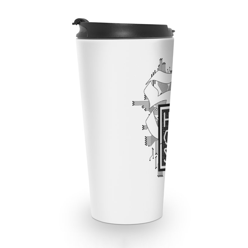 Dark 2017 logo Accessories Travel Mug by The HackSI Shop