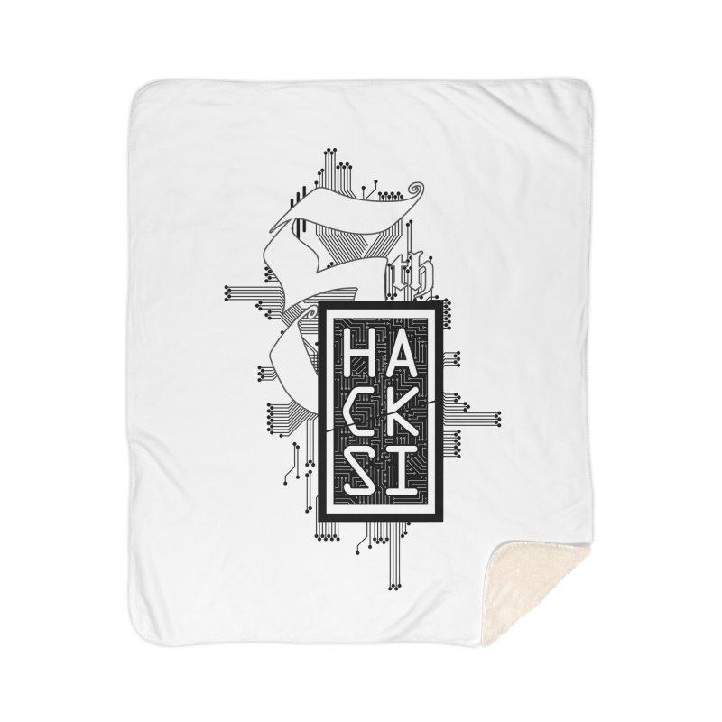 Dark 2017 logo Home Sherpa Blanket Blanket by The HackSI Shop
