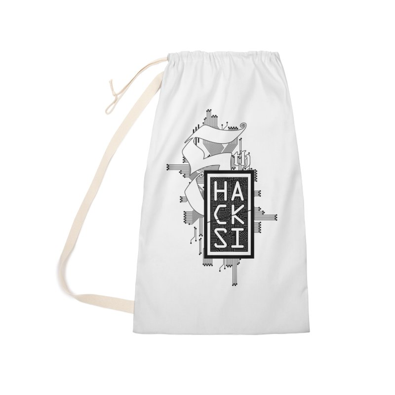 Dark 2017 logo Accessories Laundry Bag Bag by The HackSI Shop
