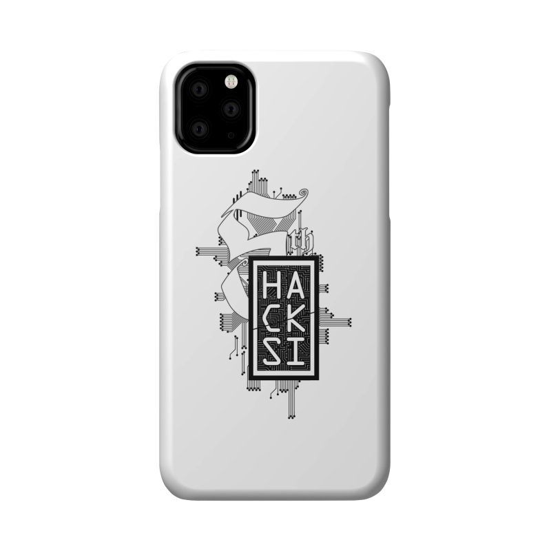 Dark 2017 logo Accessories Phone Case by The HackSI Shop