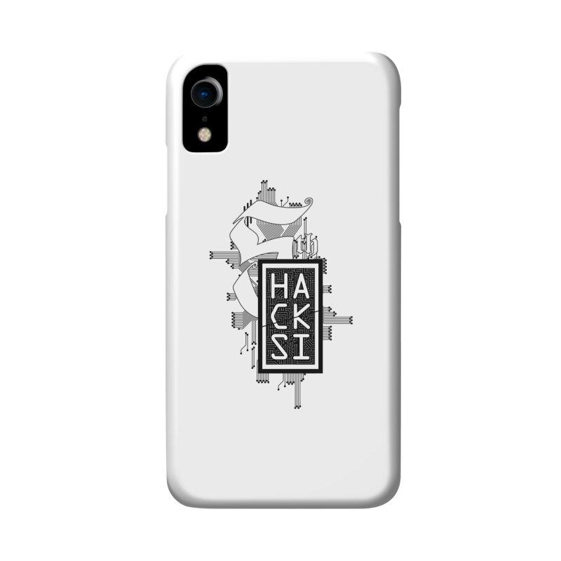 Dark 2017 logo Accessories Phone Case by The HackSI Shop
