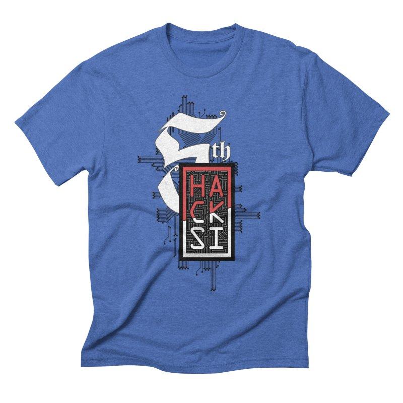 Dark Color 2017 Logo Men's T-Shirt by The HackSI Shop