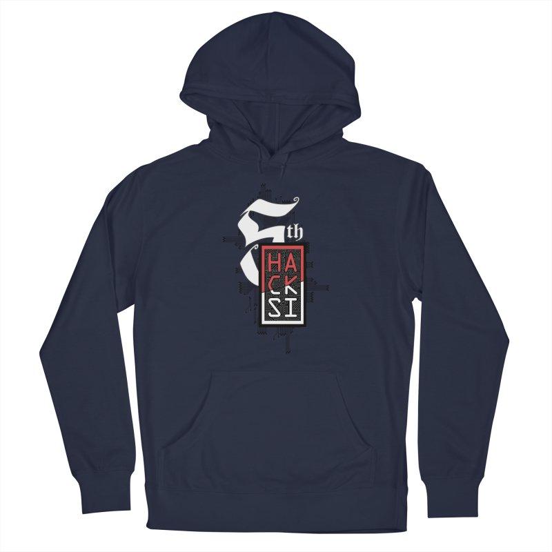 Dark Color 2017 Logo Men's Pullover Hoody by The HackSI Shop