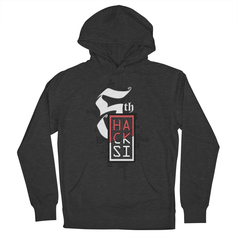 Dark Color 2017 Logo Men's French Terry Pullover Hoody by The HackSI Shop