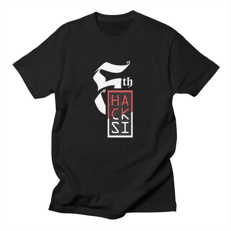 Dark Color 2017 Logo Women's Regular Unisex T-Shirt by The HackSI Shop