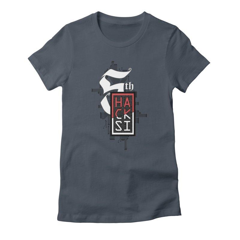 Dark Color 2017 Logo Women's T-Shirt by The HackSI Shop
