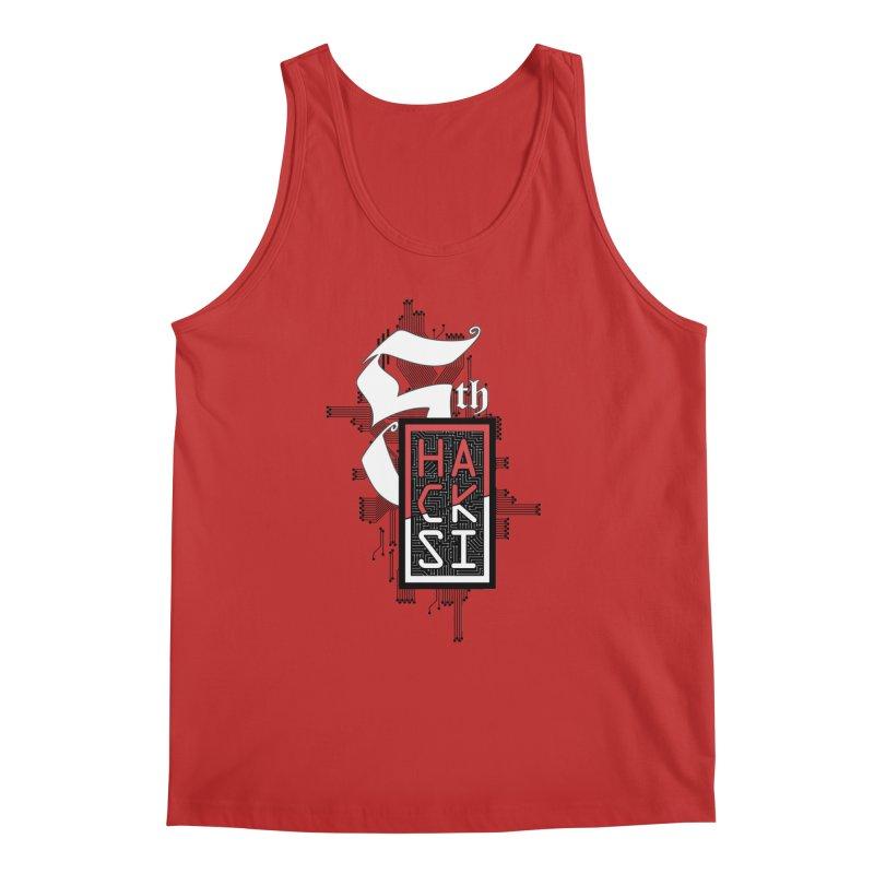 Dark Color 2017 Logo Men's Regular Tank by The HackSI Shop