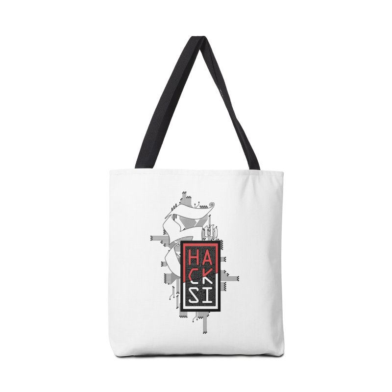 Dark Color 2017 Logo Accessories Tote Bag Bag by The HackSI Shop