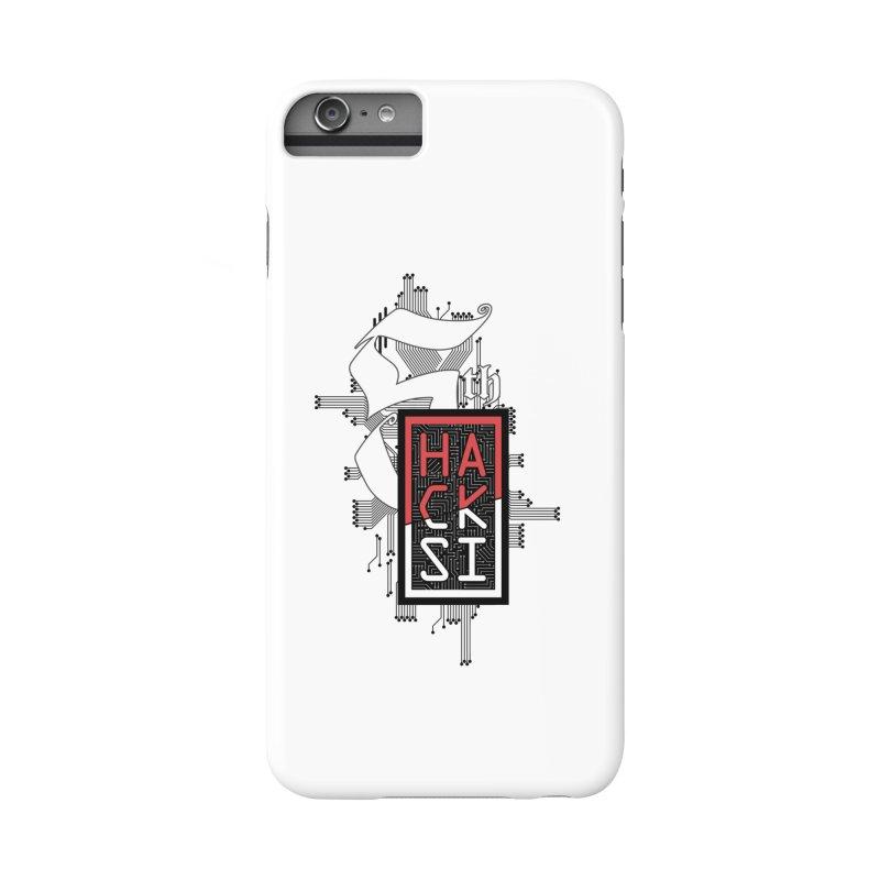 Dark Color 2017 Logo Accessories Phone Case by The HackSI Shop