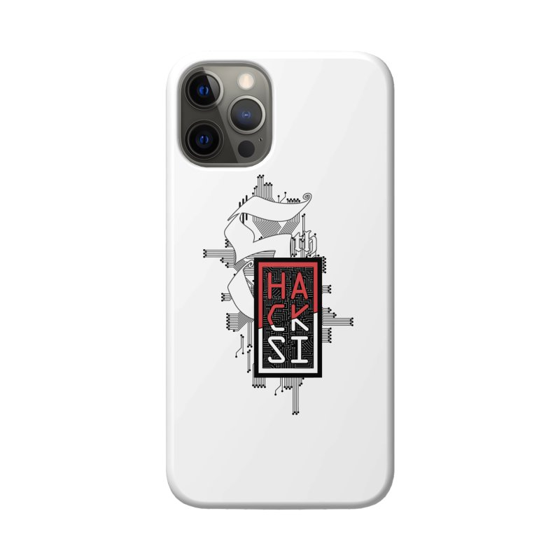 Dark Color 2017 Logo Accessories Phone Case by The HackSI Shop