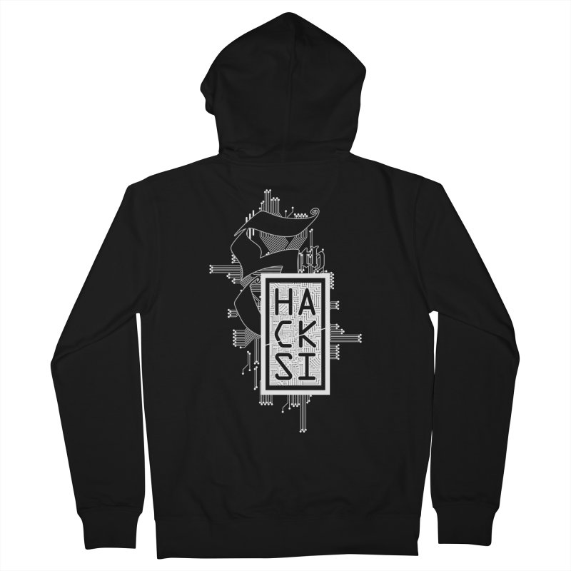Light 2017 Logo Women's French Terry Zip-Up Hoody by The HackSI Shop