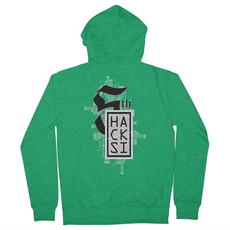 Light 2017 Logo Men's Zip-Up Hoody by The HackSI Shop