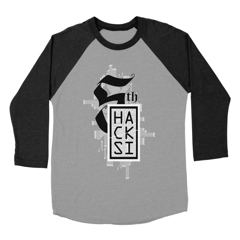 Light 2017 Logo Men's Baseball Triblend Longsleeve T-Shirt by The HackSI Shop