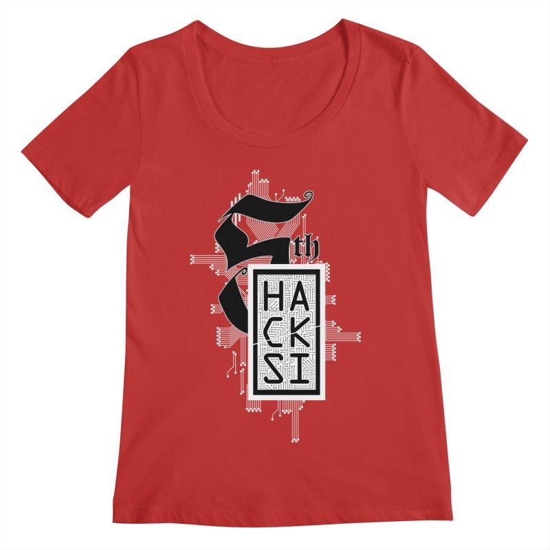 Light 2017 Logo Women's Regular Scoop Neck by The HackSI Shop