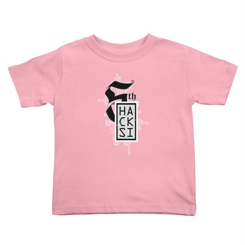 Light 2017 Logo Kids Toddler T-Shirt by The HackSI Shop